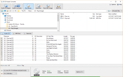 EZ CD Audio Converter 9.1.6.1 Crack